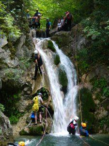 Canyoning Ορειβατικό Καταφύγιο Κορομηλιά